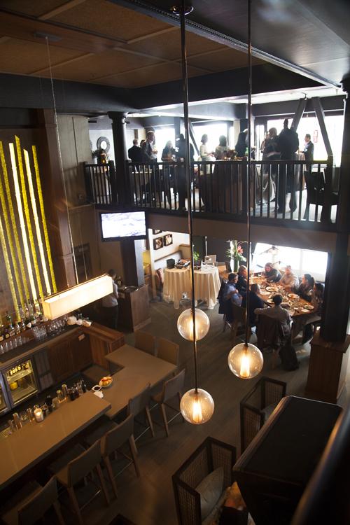 Buyout venue interior