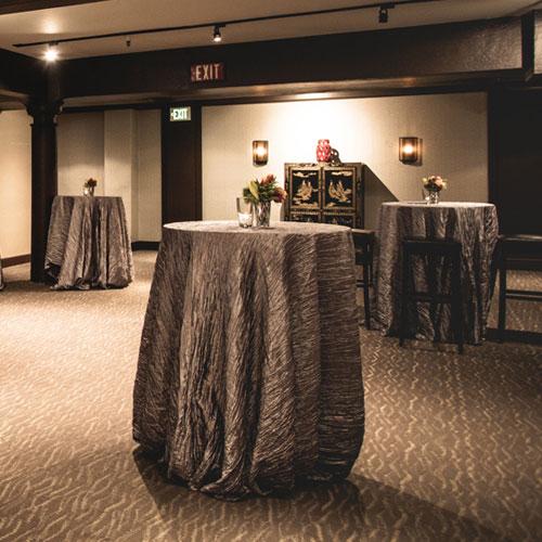 Mezzanine venue interior